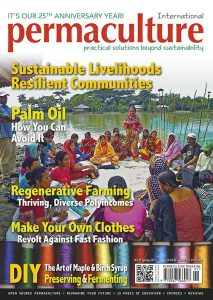 Permaculture magazine front cover